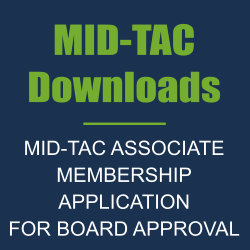 MID-TAC ASSOCIATE MEMBERSHIP APPLICATION FOR BOARD APPROVAL