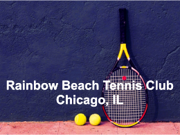 Rainbow Beach Tennis Club, Chicago, IL
