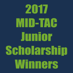 MID-TAC Junior Scholarship winners – 2017
