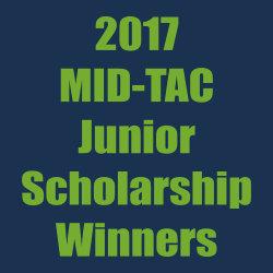 MID-TAC Junior Scholarship winners – 2017