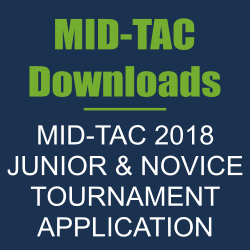 MID-TAC 2018 JUNIOR & NOVICE TOURNAMENT APPLICATION – REGISTRATION CLOSED!