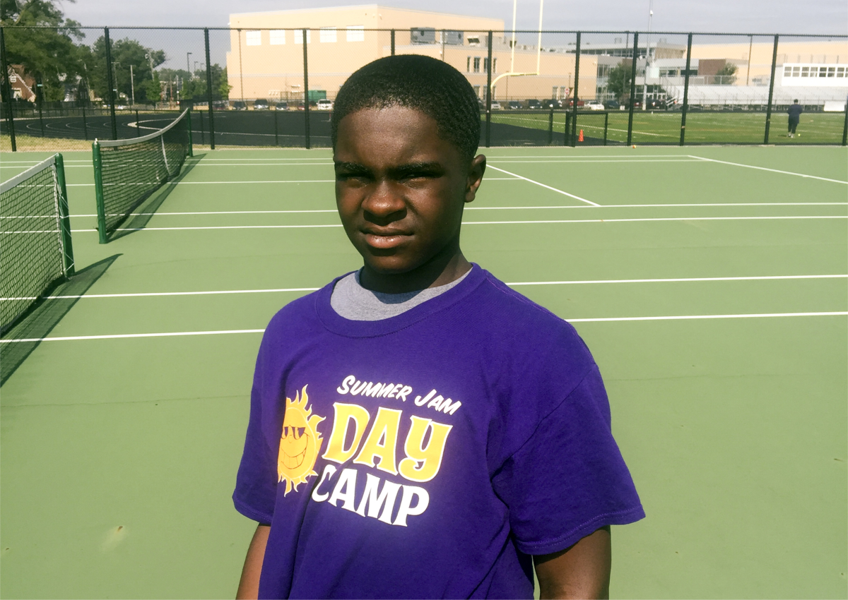 Alex from the Tidal Program, the next Frances Tiafoe