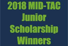 MID-TAC Junior Scholarship Winners – 2018