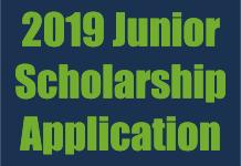 2019 Junior Scholarship Application