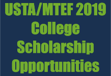 USTA/MTEF 2019 College Scholarship Opportunities