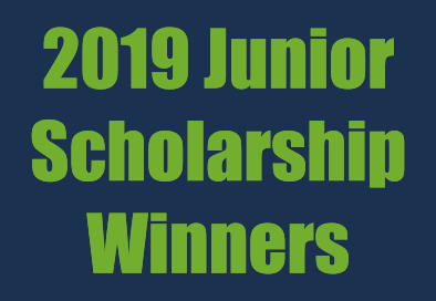 2019 Junior Scholarship Winners