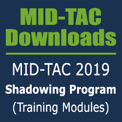 MID-TAC 2019 Shadowing Program (Training Modules)